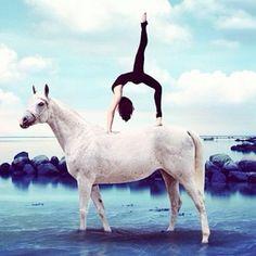 Horse Yoga | POPSUGAR Fitness