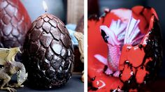 Surprise Dragon Egg Candles - YouTube