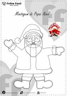 Santa and Mom template Christmas Books, Christmas Crafts, Mom Template, Felt Crafts, Diy And Crafts, Felt Sheets, Beaded Christmas Ornaments, Christmas Templates, Wool Applique