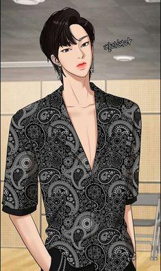 Beauty Web, True Beauty, Handsome Anime Guys, Webtoon Comics, Beautiful Places To Travel, Anime Outfits, Beauty Secrets, Blazer, Hair Styles