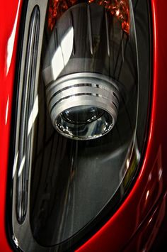 Ferrari headlights