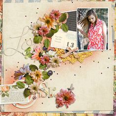 Abundance page created with Etc by Danyale Designs