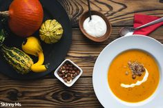 Pumpkin Soup is a fall classic, but is delicious all year round!