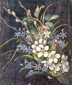 Paintings by Genre: flower painting - Kateryna Bilokur Art Floral, Botanical Art, Botanical Illustration, Flower Images, Flower Art, Ukrainian Art, Naive Art, Artist Art, Art World