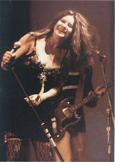 soundsof71:  Not many things look happier than Happy Janis   Janis Joplin