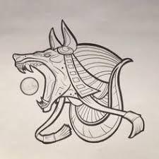 Resultado de imagem para anubis tattoo