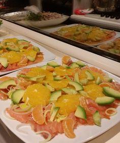 -codzienne inspiracje dla kobiety-: Danie z avocado, pomarancza i lososiem