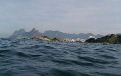 Nadando em Ipanema e Arpoador