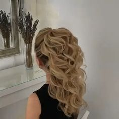 Hairstyle For Girls - pageant hair Box Braids Hairstyles, Girl Hairstyles, Hairstyles Videos, Hair Updo, Formal Hairstyles, Everyday Hairstyles, Medium Hair Styles, Curly Hair Styles, Long Hair Wedding Styles