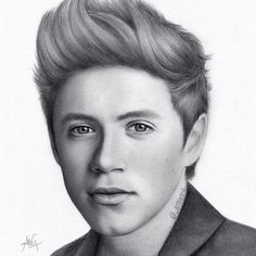 Niall Horan drawing by one of my favorite ig drawers @_artistique