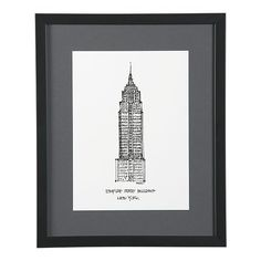 Def need to pick this up @ Crate & Barrel.    http://www.crateandbarrel.com/decorating-and-accessories/art/cityscape-new-york-city-print/s176446