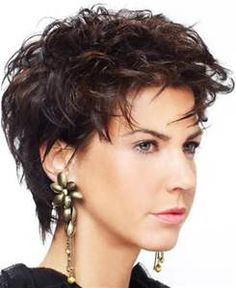 Short haircuts for round faces and thin hair - All hairstyle