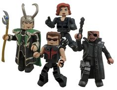 More Marvel's The Avengers Minimates