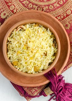 Saffron pulao is an elegant accompaniment to your favorite Indian dishes and is traditionally served as part of Indian festival meals. Saffron, being one of the most expensive spices in the world, adds to  the mystery and fragrance of this dish. It is definitely a keeper  when you want to make an everyday dinner special.