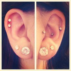 Ear piercings!