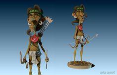 Indian Archer Carlos Castro ©2013