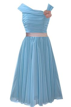 Duck egg bridesmaid dress