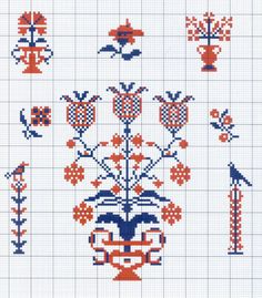 Gallery.ru / Фото #27 - Motif scandinaves traditionnel - Mongia