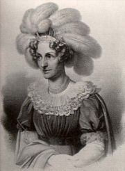 Maria Theresa of Austria (1767 - 1827). Daughter of Leopold II and Maria Luisa of Spain. She married Anthony of Saxony.