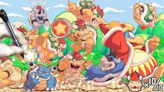 Hi all, Do you get Mario Kart 7 for Nintendo It's so great game is a match for Mario Kart Wii! Then, I built bowser community. Bowser Works Team in Mario Kart 7 Nintendo World, Nintendo Sega, Super Smash Bros, Super Mario Bros, King Koopa, Mega Evolution, Mario And Luigi, Mario Party, Video Game Art