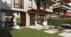 Sodic Eastown Duplex Garden for re - sale. Real Estate Egypt, Real Estate New Cairo , Eastown , 5th settlement Duplex  for sale area of 225m with a garden area  85m  ground floor , core & shell , 3 bedrooms , 3 bathrooms , nanny room