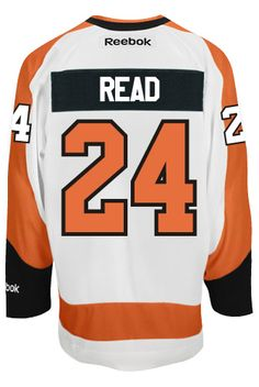 Matt Read Philadelphia Flyers NHL Away Reebok Premier Hockey Jersey  CoolHockey 91f09a16e