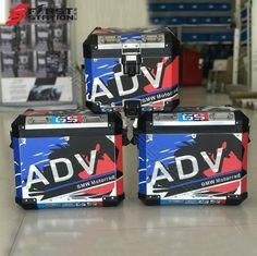 3 x Pannier Boxes Storm 750 850 ADV Protector Cover Stic – sooydoor Gs 1200 Adventure, Bmw Motorcycles, Decals, Sticker, Cover, Facebook, Stuff Stuff, Motorbikes, Bmw Motorrad