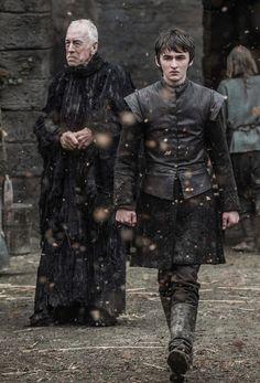 Bran Stark and The Three Eyed Raven  The Door Season 6 Episode 5