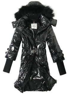 Offer Lastest & Stylish Moncler Rib Sleeve Women Down Coat Hooded Black Outerwear - $220.15 Cheap Moncler Coats www.monclerlines....
