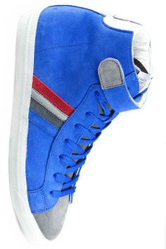 "For The Boys - a bit of the Power of Blue, take a look a this: Serafini ""Sidney"" bluette suede"