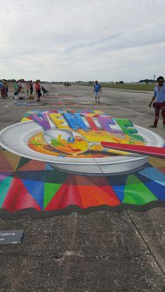 Chalk festival 2015 Chalk Festival, Beach Mat, Outdoor Blanket
