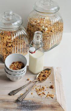sugar meets chili: Frückstückszeit ist Müslizeit - Kokosnussgranola +...