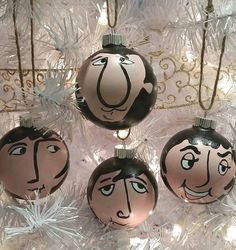 The Beatles Ornaments!  https://www.etsy.com/listing/207419758/the-beatles-ornaments