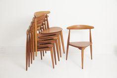 Hans Wegner Heart Chairs - augustusgreaves ##Chairs #Habs_Wegner