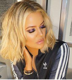 Joyce Bonelli makeup for Khloe Kardashian