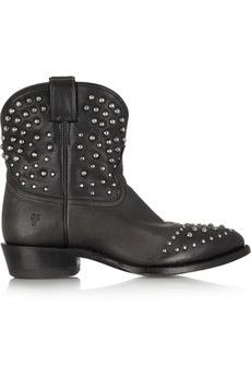Frye Billy studded leather ankle boots | THE OUTNET