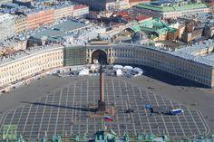 Palace Square St Petersburg Russia  Author: Irina Vasilevitskaya
