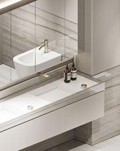 Luxury Kitchen Design, Interior Design Kitchen, Bathroom Interior, Modern Bathroom, Residential Architecture, Interior Architecture, Neoclassical Interior Design, Exterior Design, Interior And Exterior