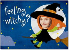Feeling Witchy - Halloween Cards from Treat.com #trickorTREAT
