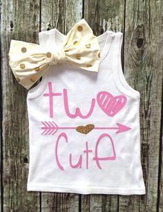 Second Birthday Outfit, Smash Cake Shirt, Sparkle, Two Cute Tank Top, Two Cute… Cute Tank Tops, Cute Shirts, Birthday Shirts, Birthday Stuff, Birthday Ideas, Girl 2nd Birthday, Baby Sister, Cute Baby Clothes, Swagg