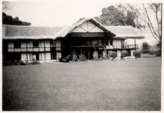 Dhoolie Manager's bungalow 1950's. Photo courtesy: Bruce Allen