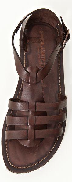 Handmade Leather Sandals - link: www.sandalishop.it