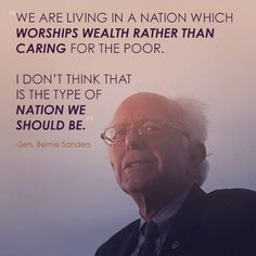 """""""MT I love what Bernie stands for: everything he says is so true and he seems to really care about… Bernie Sanders, Dancing On The Edge, Political Quotes, Political Views, Social Justice, Revolution, Inspirational Quotes, Feelings, Words"""