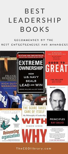 Leadership Books Recommended by World's Top. Best Leadership Books - recommended by the best entrepreneurs and managersBest Leadership Books - recommended by the best entrepreneurs and managers Educational Leadership Quotes, Education Quotes, Books On Leadership, Leadership Activities, Leadership Coaching, Leadership Development, Leadership Qualities, Personal Development, Leadership Lessons