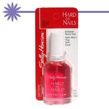 Sally Hansen Hard As Nails Regular Nail Enamel-Natural Tint-0.45 oz by Sally Hansen. $2.74. Want great nail protection and great shine? Sally Hansen Hard As Nails Color is your solution!. Salon tested. Dermatologist tested.. Nails are sealed with brilliant shine for added protection against chipping, cracking and splitting.. Helps prevent chipping, splitting, breaking. It gives nails a hard, smooth, chip-resistant surface that helps strengthens and support.. Shin...