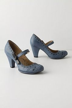 Mary Janes | blue grey