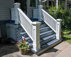 New house front stairs newel posts Ideas
