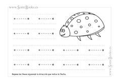 4. Trazos horizontales guiados - SomeBooks.es