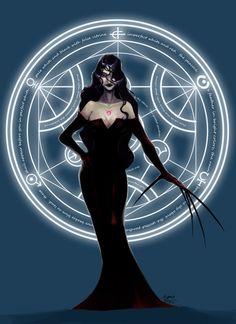 Lust and her Circle by cyanineblu.deviantart.com on @DeviantArt