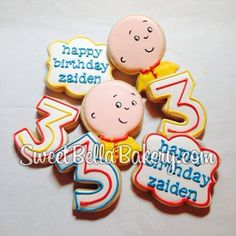 Caillou birthday ideasRepin ByPinterest for iPad Mmmm FOOD